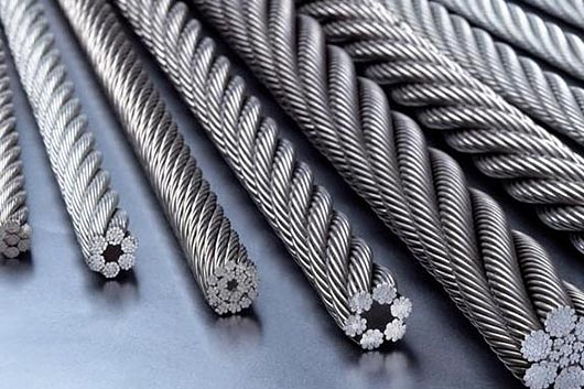 Items of Manual Inspection and Replacement Conditions for Wire Rope